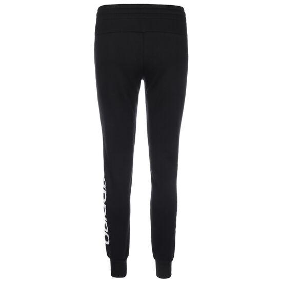 Linear Fleece Jogginghose Damen, schwarz / weiß, zoom bei OUTFITTER Online