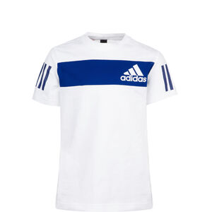 Sport ID Trainingsshirt Kinder, weiß / blau, zoom bei OUTFITTER Online
