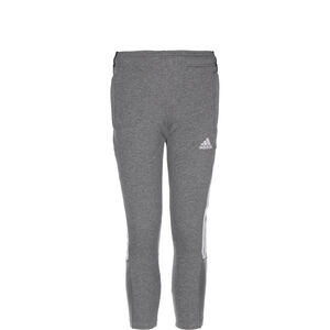 Tiro 21 Sweat Trainingshose Kinder, grau / weiß, zoom bei OUTFITTER Online