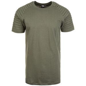 Pleat Raglan T-Shirt Herren, oliv, zoom bei OUTFITTER Online