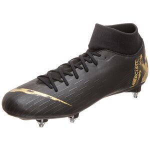 Mercurial Superfly VI Academy SG-Pro Fußballschuh Herren, schwarz / gold, zoom bei OUTFITTER Online