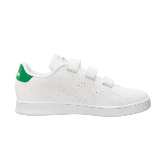Advantage C Sneaker, weiß / grün, zoom bei OUTFITTER Online