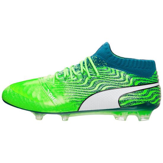 Puma ONE 18.1 AG Fußballschuh Herren, Grün, zoom bei OUTFITTER Online