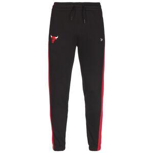 NBA Chicago Bulls Logo Trainingshose Herren, schwarz / rot, zoom bei OUTFITTER Online