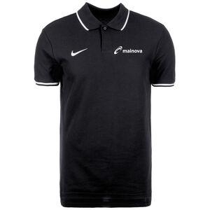 Mainova Polo TM Club19 SS Poloshirt Herren, schwarz / weiß, zoom bei OUTFITTER Online