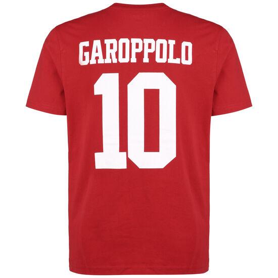 NFL San Francisco 49ers Jimmy Garoppolo T-Shirt Herren, rot / weiß, zoom bei OUTFITTER Online