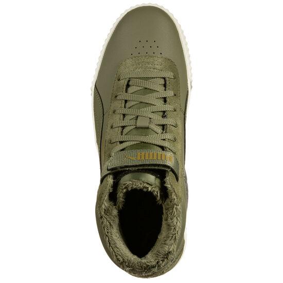Carina Mid Winterised Sneaker Damen, grün, zoom bei OUTFITTER Online