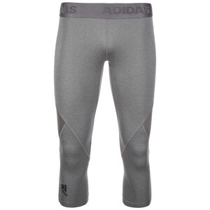 AlphaSkin Sport 3/4 Trainingstight Damen, Grau, zoom bei OUTFITTER Online