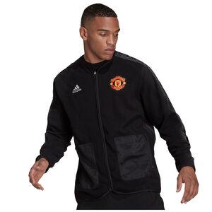 Manchester United Travel Mid-Layer Jacke Herren, schwarz / rot, zoom bei OUTFITTER Online