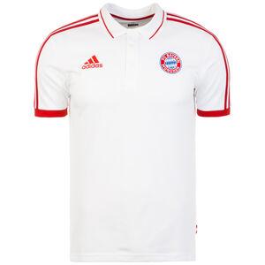 FC Bayern München Poloshirt Herren, weiß / rot, zoom bei OUTFITTER Online