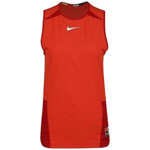 F.C. Joga Bonito 2.0 Trainingstank Damen, rot / dunkelrot, zoom bei OUTFITTER Online