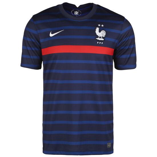 Frankreich Trikot Home Stadium EM 2021 Herren, dunkelblau / rot, zoom bei OUTFITTER Online