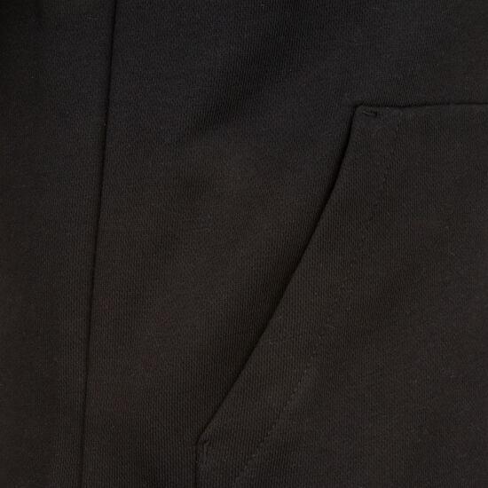 Must Haves 3-Streifen Kapuzenjacke Kinder, schwarz / weiß, zoom bei OUTFITTER Online