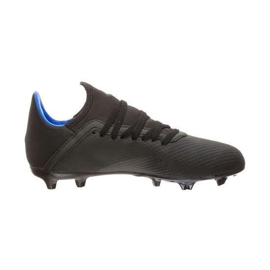 X 18.3 FG Fußballschuh Kinder, schwarz / blau, zoom bei OUTFITTER Online