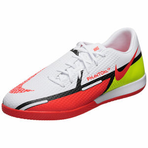 Phantom GT2 Academy Indoor Fußballschuh Herren, weiß / rot, zoom bei OUTFITTER Online