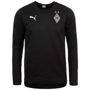 Borussia Mönchengladbach Casuals Sweatshirt Herren, Schwarz, zoom bei OUTFITTER Online