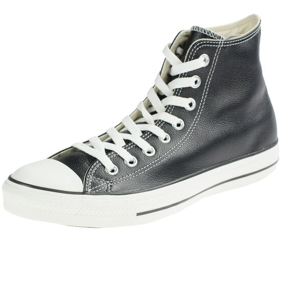 Chuck Taylor All Star High Leather Sneaker, Schwarz, zoom bei OUTFITTER Online