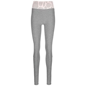 Studio Lace Eclipse Trainingstight Damen, grau / altrosa, zoom bei OUTFITTER Online