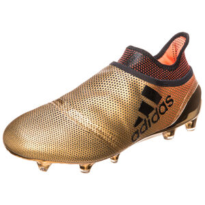 X 17+ Purespeed FG Fußballschuh Herren, Gold, zoom bei OUTFITTER Online