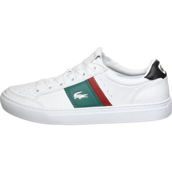 Courtline Sneaker Herren, weiß / grün, zoom bei OUTFITTER Online