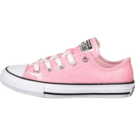 Chuck Taylor All Star Coated Glitter OX Sneaker Kinder, rosa, zoom bei OUTFITTER Online