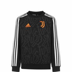 Juventus Turin Sweatshirt Kinder, schwarz / weiß, zoom bei OUTFITTER Online