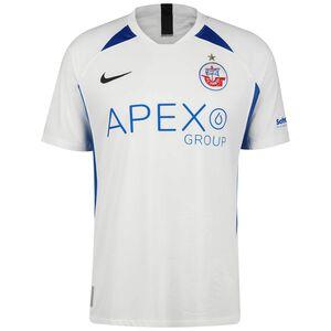 FC Hansa Rostock Trikot Away 2021/2022 Herren, weiß / blau, zoom bei OUTFITTER Online