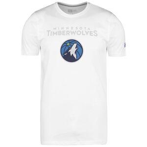 NBA Minnesota Timberwolves Team Logo T-Shirt Herren, weiß / blau, zoom bei OUTFITTER Online