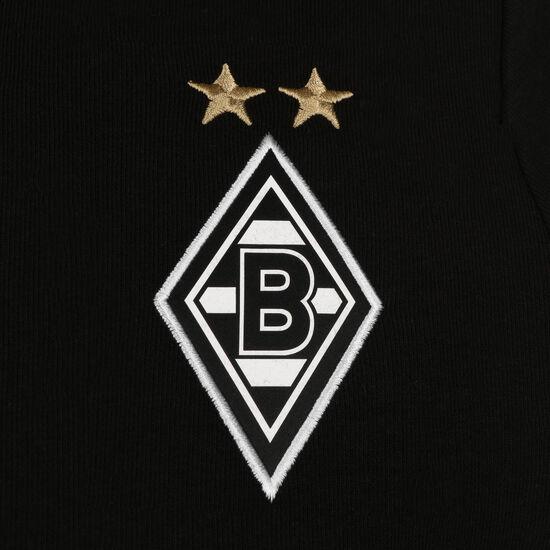 Borussia Mönchengladbach Casuals Kapuzenpullover Herren, schwarz / weiß, zoom bei OUTFITTER Online