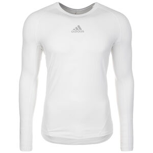 AlphaSkin Sport Trainingsshirt Herren, weiß, zoom bei OUTFITTER Online