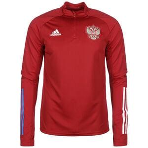 Russland Trainingssweat EM 2021 Herren, rot / weiß, zoom bei OUTFITTER Online