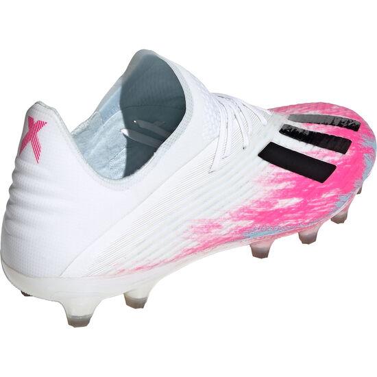 X 19.1 AG Fußballschuh Herren, weiß / pink, zoom bei OUTFITTER Online