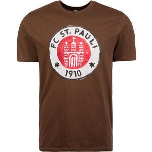 Logo Paint T-Shirt Herren, Braun, zoom bei OUTFITTER Online