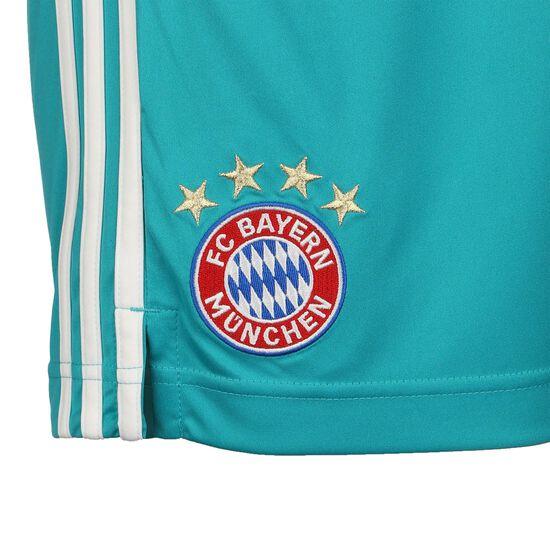 FC Bayern München Torwartshort 2020/2021 Herren, grün / weiß, zoom bei OUTFITTER Online
