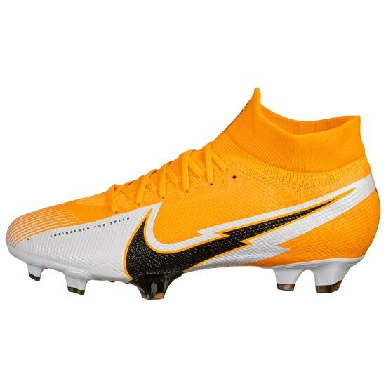 Mercurial Superfly 7 Pro FG Fußballschuh Herren, orange / schwarz, zoom bei OUTFITTER Online