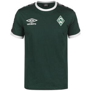 SV Werder Bremen Icon Ringer T-Shirt Herren, dunkelgrün / weiß, zoom bei OUTFITTER Online