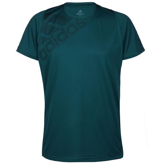 Freelift Badge of Sport Grapfic Trainingsshirt Herren, petrol, zoom bei OUTFITTER Online