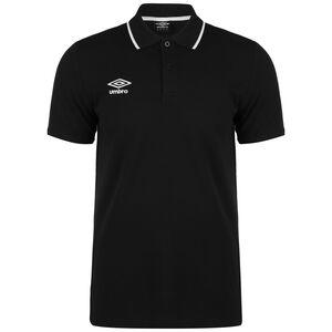FW Pique Poloshirt Herren, schwarz / weiß, zoom bei OUTFITTER Online