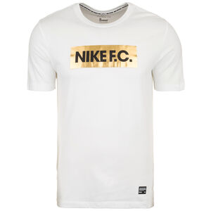 F.C. Dry Gold Block T-Shirt Herren, weiß / gold, zoom bei OUTFITTER Online