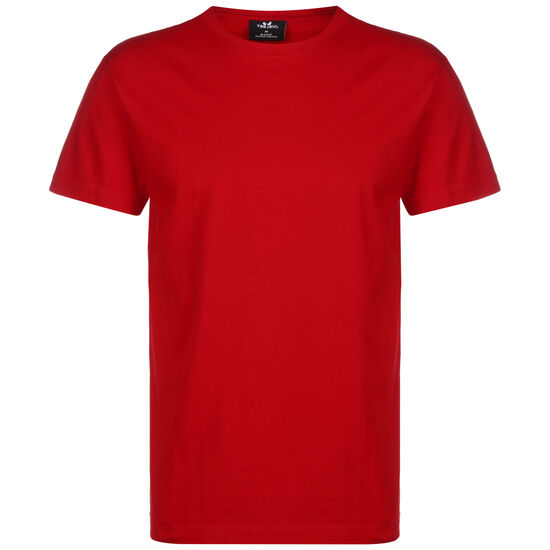 Basic Shirt Red Trainingsshirt Herren, rot, zoom bei OUTFITTER Online