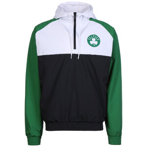 NBA Boston Celtics Hooded Windbreaker Herren, schwarz / grün, zoom bei OUTFITTER Online