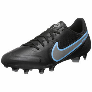 Tiempo Legend 9 Academy MG Fußballschuh Herren, schwarz / blau, zoom bei OUTFITTER Online