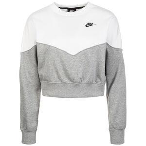 Heritage Crew Fleece Sweatshirt Damen, grau / weiß, zoom bei OUTFITTER Online