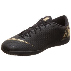 Mercurial VaporX XII Academy Indoor Fußballschuh Herren, schwarz / gold, zoom bei OUTFITTER Online