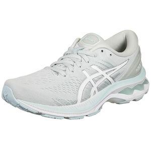 Gel-Kayano 27 Laufschuh Damen, grau / weiß, zoom bei OUTFITTER Online