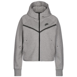 Tech Fleece Windrunner Damen, grau / schwarz, zoom bei OUTFITTER Online