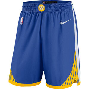 NBA Boston Celtics Basketballshort Herren, blau / gelb, zoom bei OUTFITTER Online