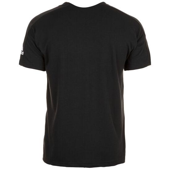 ID Stadium Trainingsshirt Herren, schwarz / weiß, zoom bei OUTFITTER Online