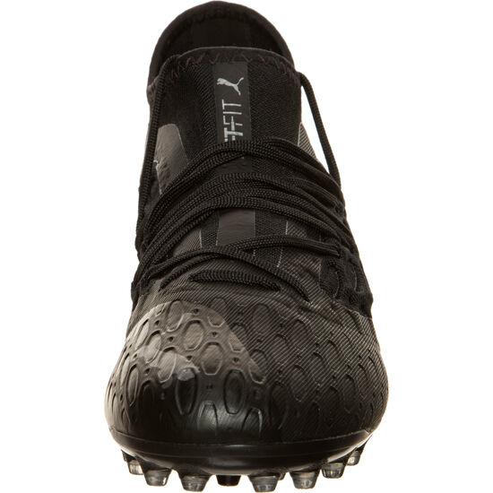Future 5.3 NETFIT MG Fußballschuh Herren, schwarz / grau, zoom bei OUTFITTER Online