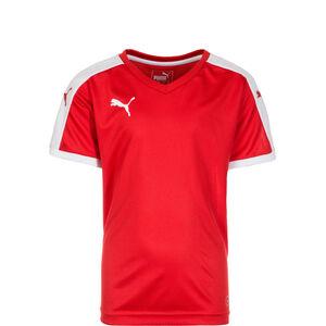Pitch Fußballtrikot Kinder, rot / weiß, zoom bei OUTFITTER Online